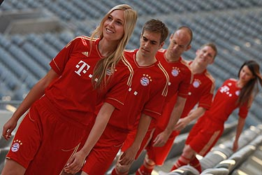 FC Bayern Munich Home Uniform 11-12
