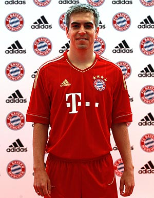 New Bayern Munich Home Jersey 2011