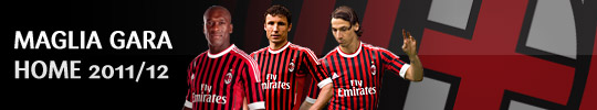 2011 AC Milan Home Strip