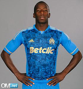 Adidas Marseille Away Shirt Blue