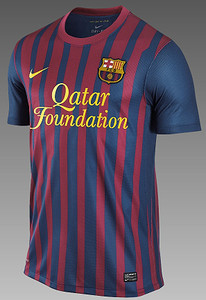 Barcelona Qatar Foundation Shirt 2011