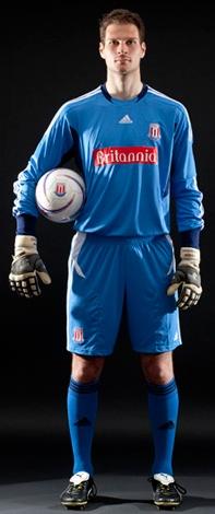 Begovic Stoke Home Goalkeeper Kit 11-12