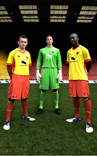 Burrda Watford Home Kit 2011