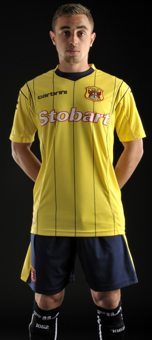Carbrini Carlisle United Away Strip 2011-12