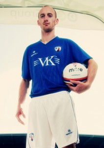 Chesterfield FC Home Kit