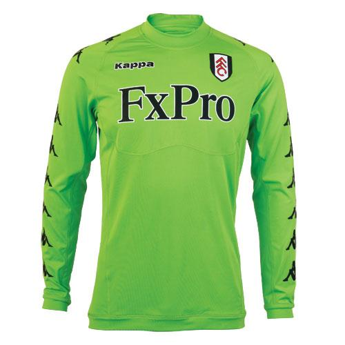 Fulham Away Goalkeeper Kit 11-12