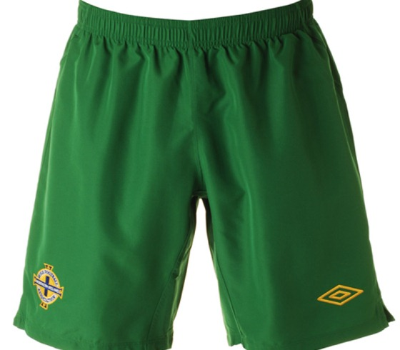 NI Away Kit 2011-2013 Shorts