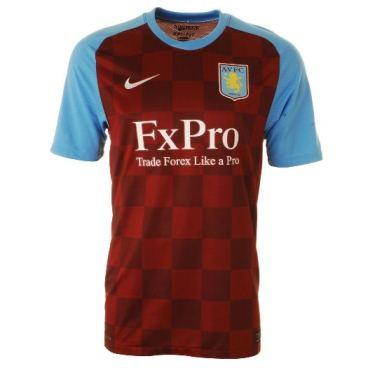 New Aston Villa Shirt 11-12