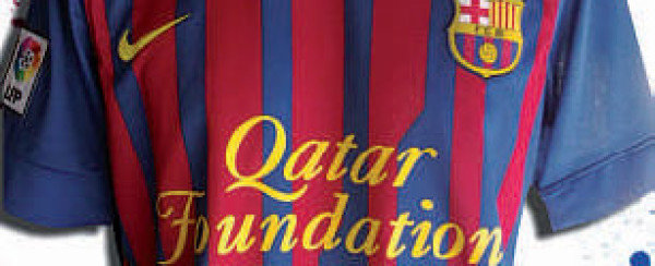 f8ceae3bf New Barcelona Kit 11-12 Home Qatar Foundation