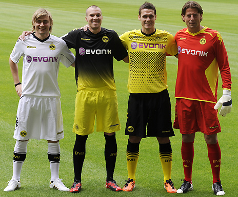 New Borussia Dortmund Kit 11-12