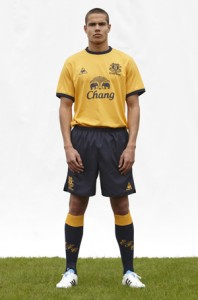 New Everton Away Kit 11-12
