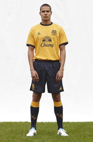 New Everton Away Kit 11-12