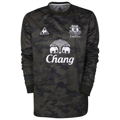 New Everton Goalkeeper Kit 11-12