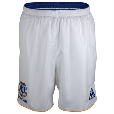 New Everton Home Shorts 11-12