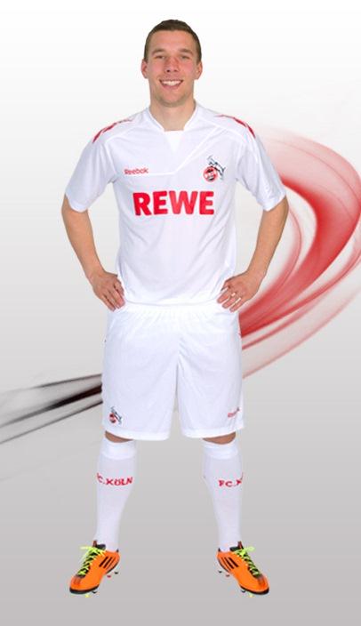 New FC Koln Jersey 2011-12 Reebok