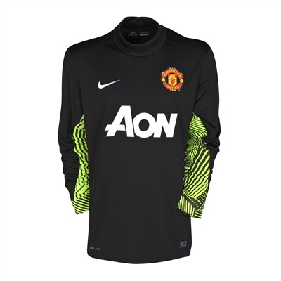 New Manchester United Goalkeeper Shirt 11-12