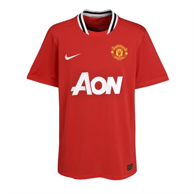 New Manchester United Home Kit 11-12