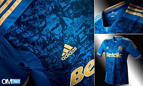 New Marseille Away Shirt 11-12