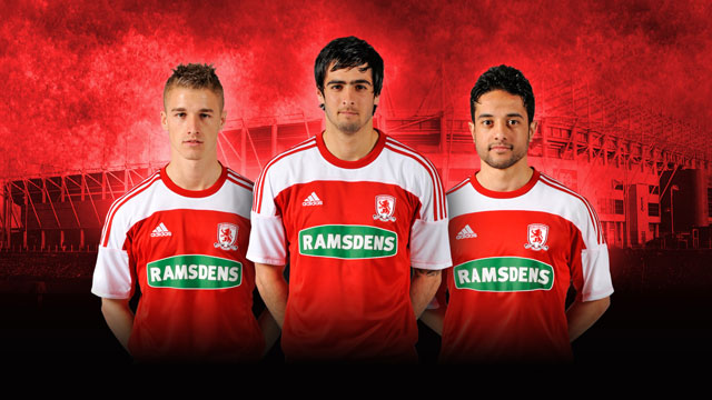 New Middlesbrough Home Kit 11-12