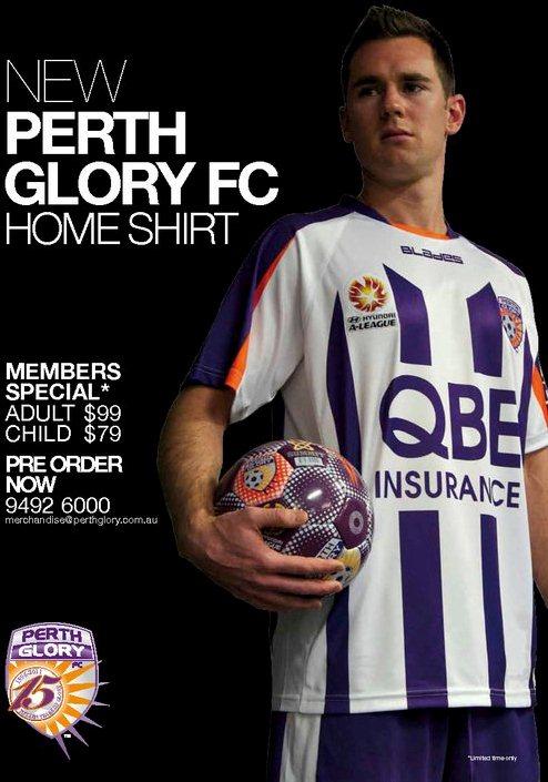 New Perth Glory Kit 11-12