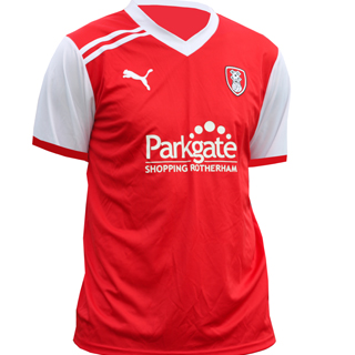 New Rotherham United Shirt 11-12