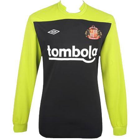 New Sunderland Goalkeeper Kit 11-12