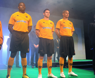 New Wolves Home Strip 11-12