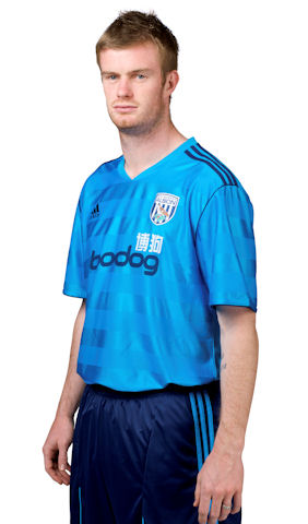 Adidas New West Brom Away Kit 11-12 Chris Brunt