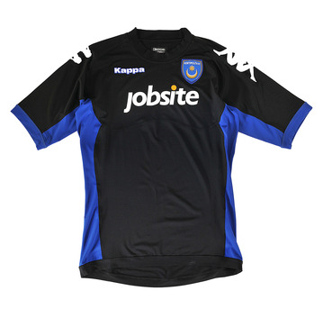 Black Pompey Away Kit 11-12
