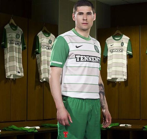 Celtic New Away Kit 11-12