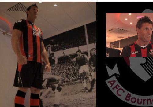 FILA Bournemouth Home Shirt 11-12