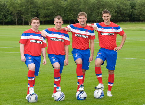 Glasgow Rangers Away Strip 2011-12