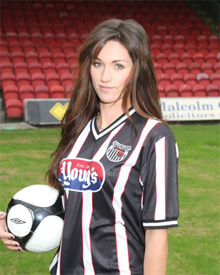 Grimsby Town Home Shirt 2011-12