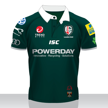 New London Irish Home Shirt 2011-12