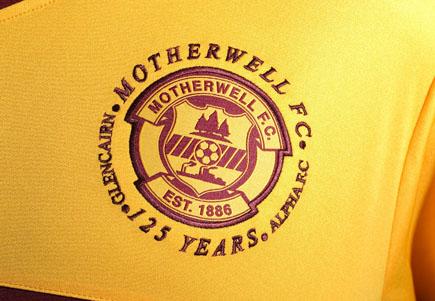 Motherwell Badge 125th