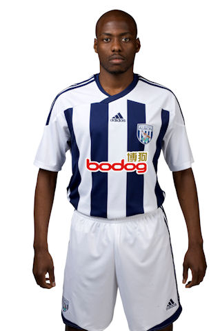 New Adidas WBA Kit 11-12 Home
