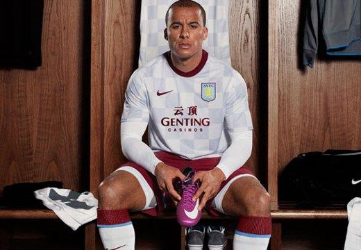 New Aston Villa Away Kit 11-12