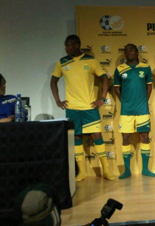 New Bafana Puma Kit