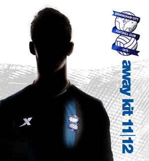 New Birmingham Away Kit 11-12 Teaser