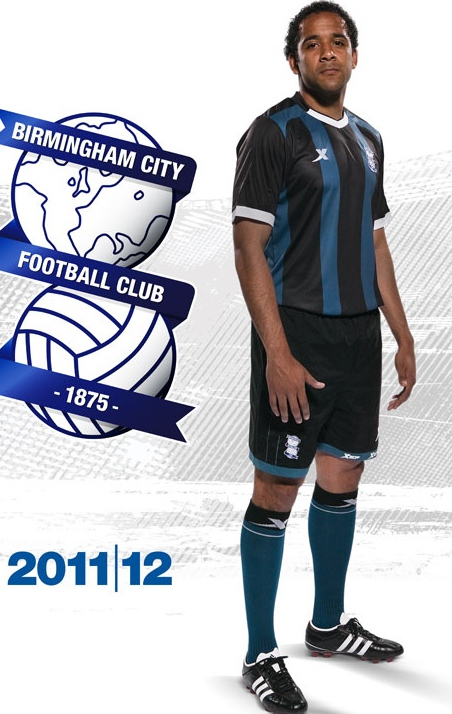 New Birmingham Away Kit 11-12