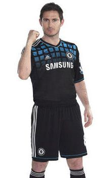 New Chelsea Away Kit 11-12
