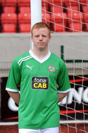 New Cliftonville Jersey 2011-12 Green