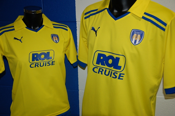 New Colchester Kit 2011 Away