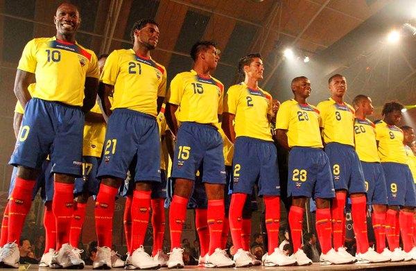 New Ecuador Soccer Jersey 2011 Copa America