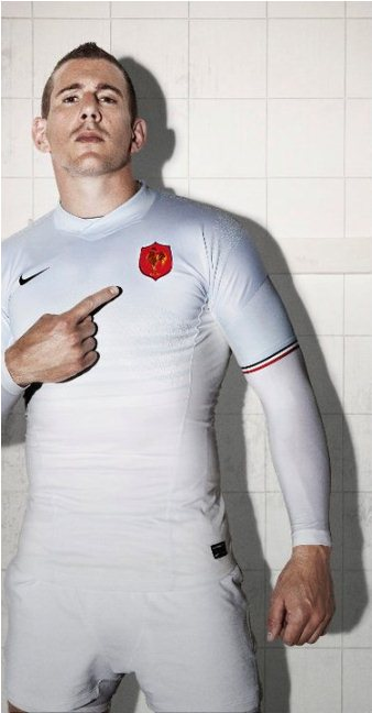New France Rugby Kit 2011-12 Away