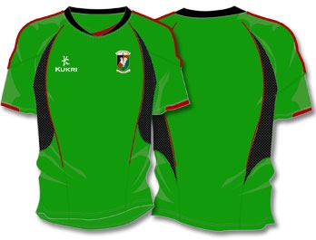 New Glentoran European Kit 11-12