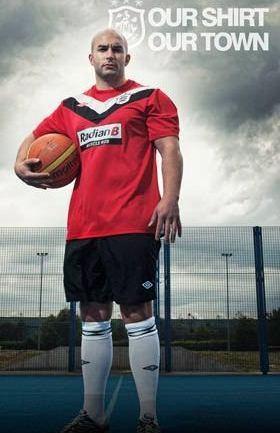 New Huddersfield Away Kit 11-12