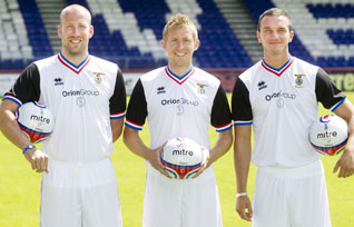 New Inverness Away Strip 11-12