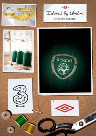 New Ireland home kit teaser