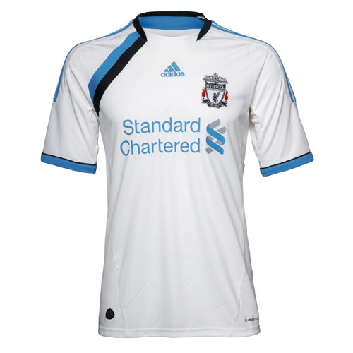 New Liverpool Third Kit 11-12 White Cyan